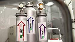 Sistema de suministro de gas subatmosférico UpTime®